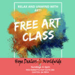 Art Expression Class 4-6pm